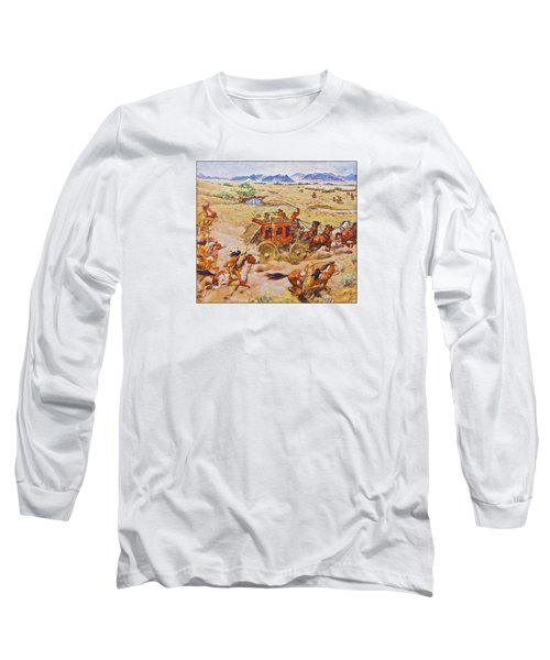 Wells Fargo Express Old Western Long Sleeve T-Shirt