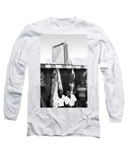 Wema Bank Hq And Stalls, Marina Long Sleeve T-Shirt