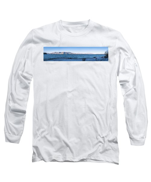 Long Sleeve T-Shirt featuring the photograph West Almanor Blue by Jan Davies