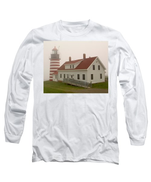 West Quoddy In Fog Long Sleeve T-Shirt