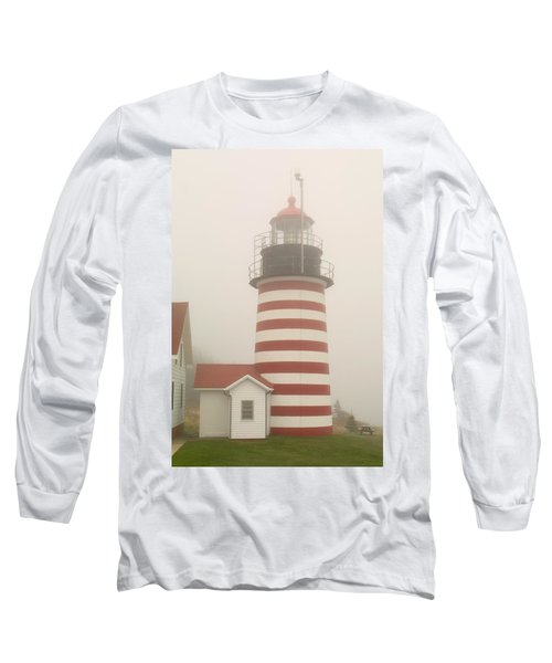 West Quody Head Lighthouse Long Sleeve T-Shirt