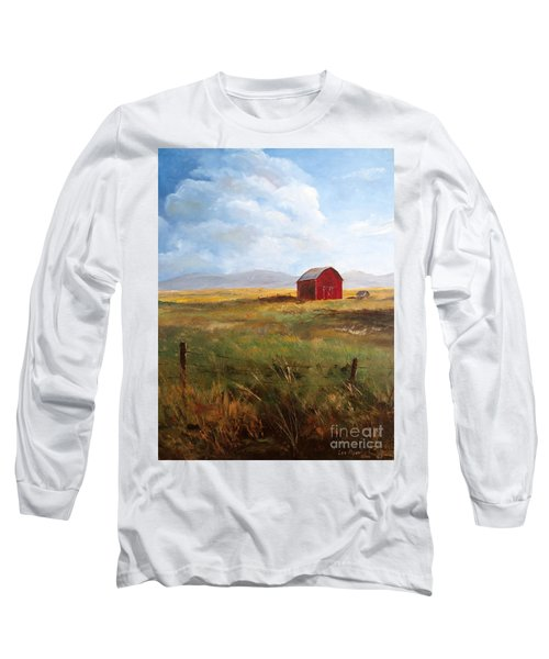 Western Barn Long Sleeve T-Shirt