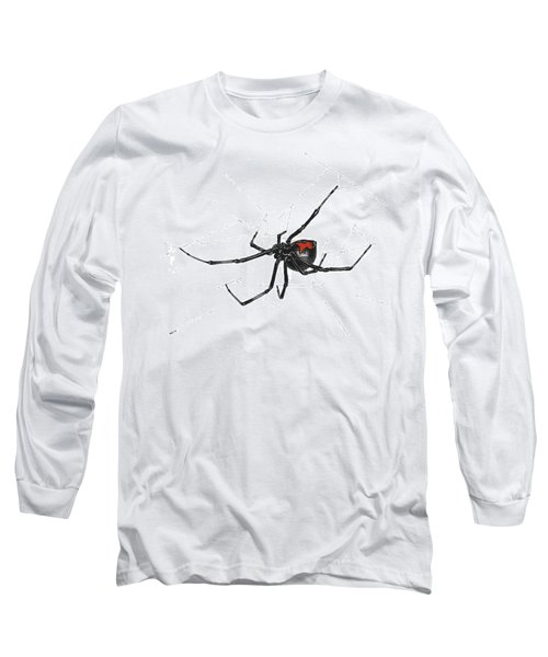 Western Black Widow - Color Long Sleeve T-Shirt