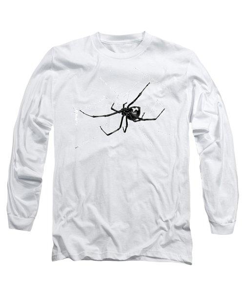 Western Black Widow Long Sleeve T-Shirt