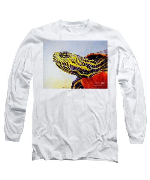 Western Painted Turtle Long Sleeve T-Shirt