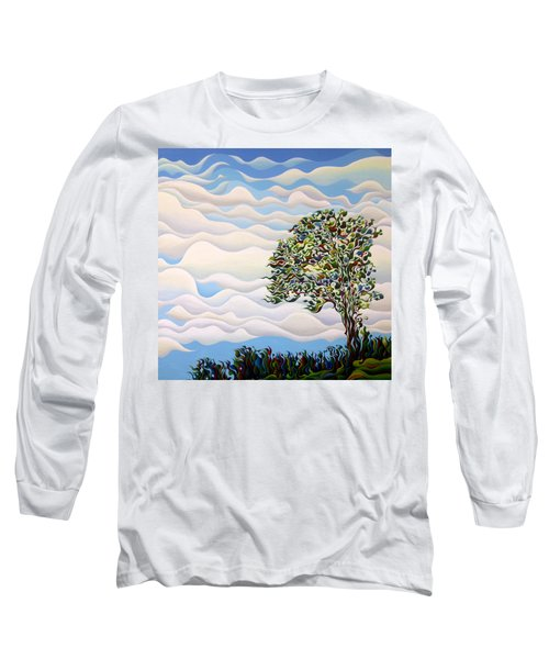 Westward Yearning Tree Long Sleeve T-Shirt
