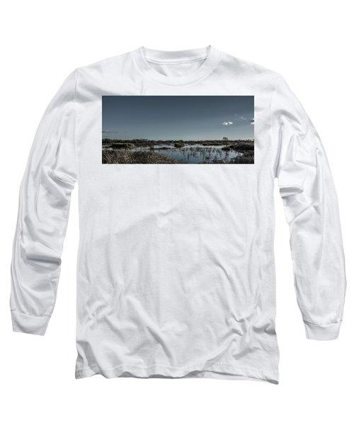 Wetlands Desaturated  Long Sleeve T-Shirt
