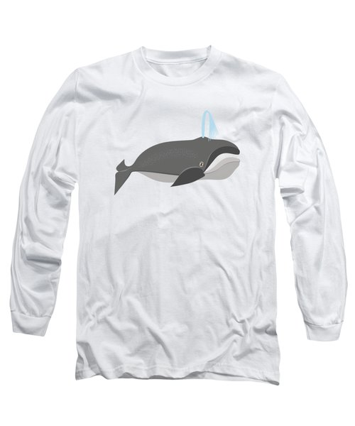 Whale Of A Good Time Long Sleeve T-Shirt by Antique Images