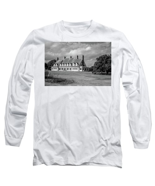Whalehead Club Long Sleeve T-Shirt by David Sutton