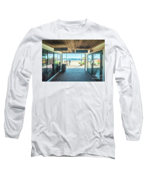 Whaler's Wharf Long Sleeve T-Shirt