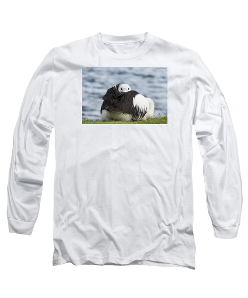 Long Sleeve T-Shirt featuring the photograph What 011 by Kevin Chippindall