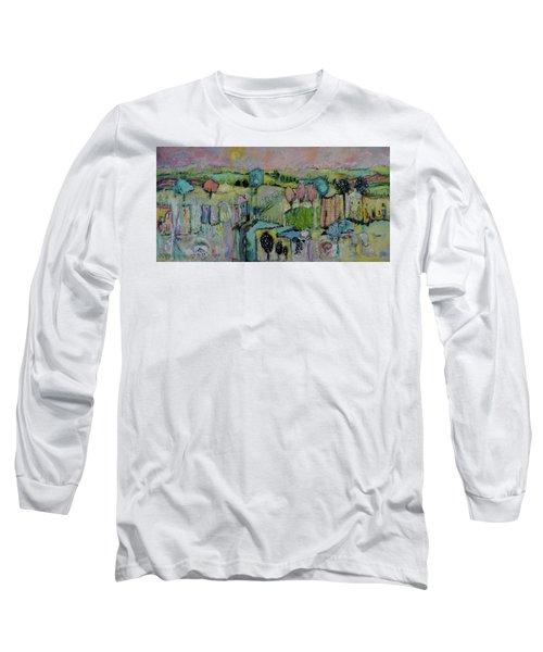 What A Bird Sees Long Sleeve T-Shirt