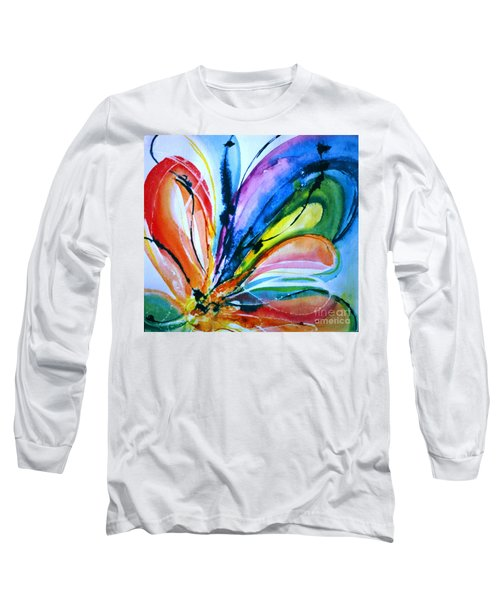 What A Fly Dreams Long Sleeve T-Shirt by Rory Sagner