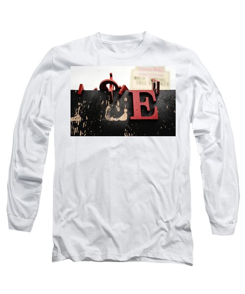 What Rhymes With E Long Sleeve T-Shirt