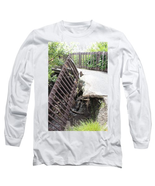 Long Sleeve T-Shirt featuring the photograph What Storms Can Do by Marie Neder