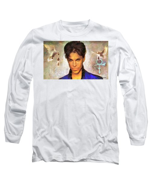 When Doves Cry Long Sleeve T-Shirt by Wayne Pascall