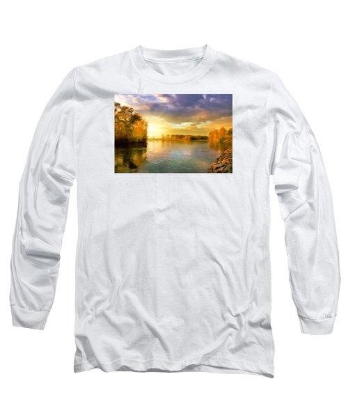 Where All The Rivers Run Wild Long Sleeve T-Shirt