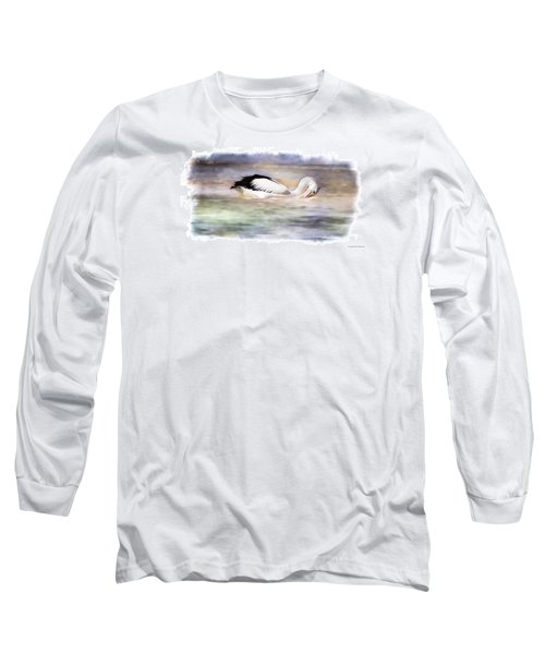 Long Sleeve T-Shirt featuring the photograph Where Is That Dam Fish 01 by Kevin Chippindall