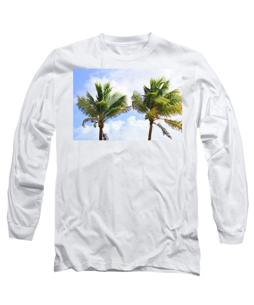 Where The Coconuts Grow Long Sleeve T-Shirt