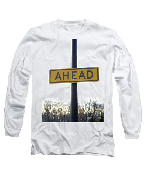 Where The Great Unknown Lies Long Sleeve T-Shirt