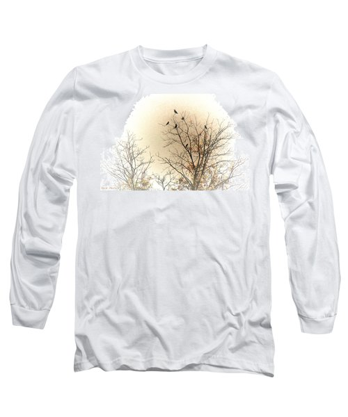 Where To Go From Here... Long Sleeve T-Shirt by Bonnie Willis