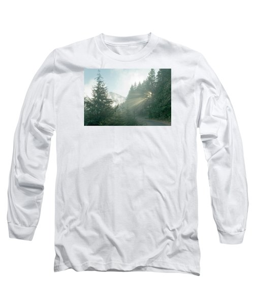 Where Will Your Road Take You? Long Sleeve T-Shirt