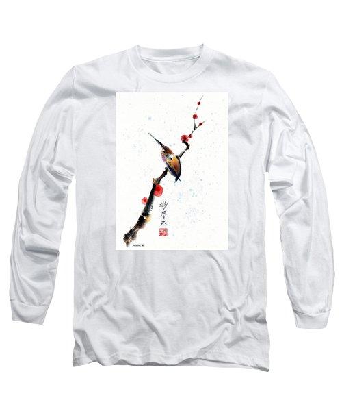 Whisper Long Sleeve T-Shirt by Bill Searle