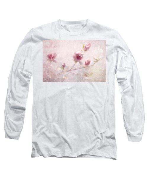 Long Sleeve T-Shirt featuring the photograph Whisper Of Spring by Annie Snel