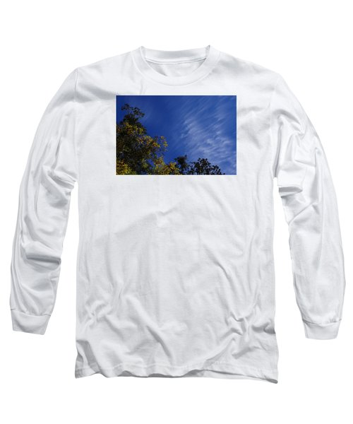 Whispy Clouds Long Sleeve T-Shirt