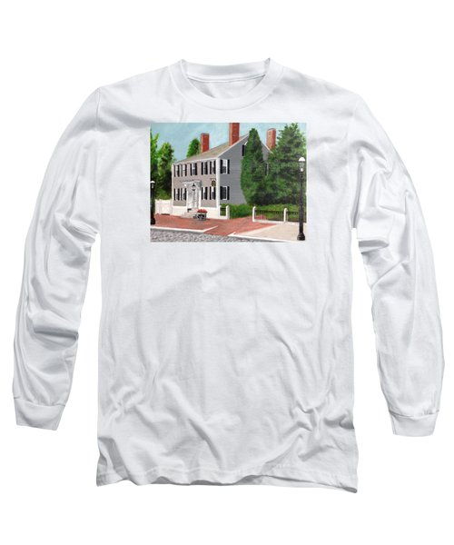 Whistler House Long Sleeve T-Shirt by Cynthia Morgan