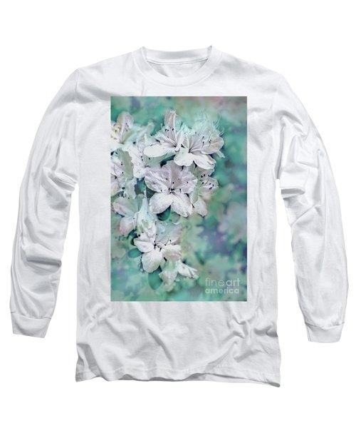 White Azaleas Long Sleeve T-Shirt