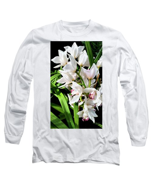 White Elegance Long Sleeve T-Shirt