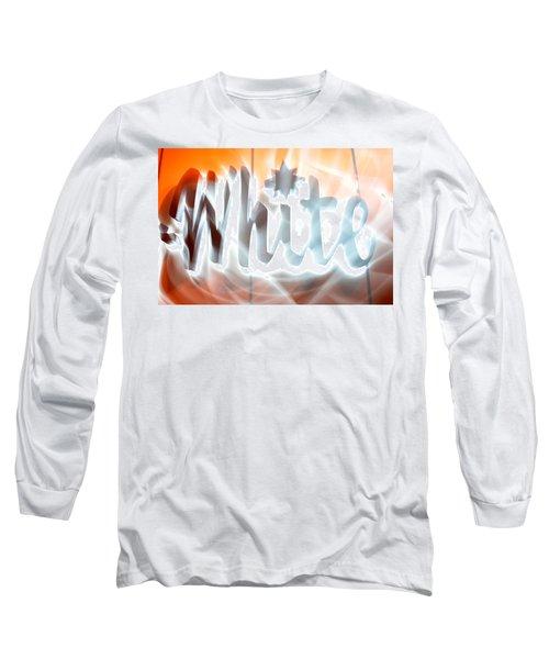 White Hot Long Sleeve T-Shirt