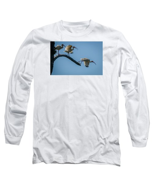 White Ibis Takeoff Long Sleeve T-Shirt