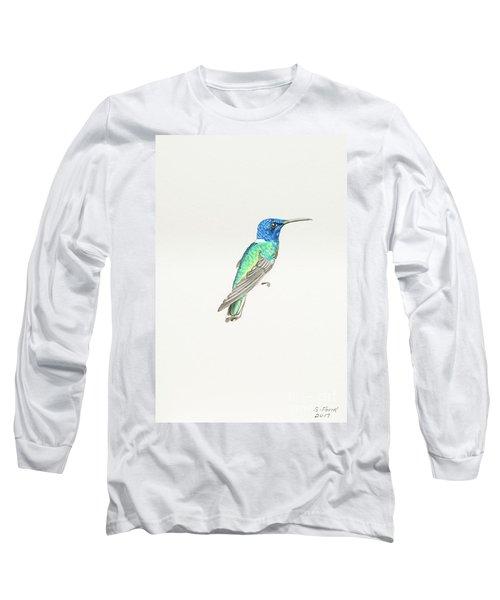 White-necked Jacobin Long Sleeve T-Shirt
