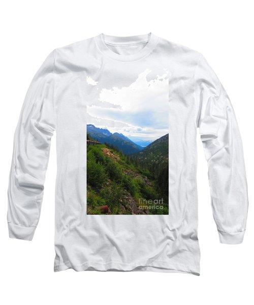 White Pass Rail Road Long Sleeve T-Shirt