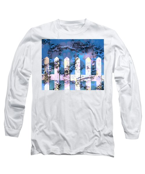 White Picket Fence Long Sleeve T-Shirt
