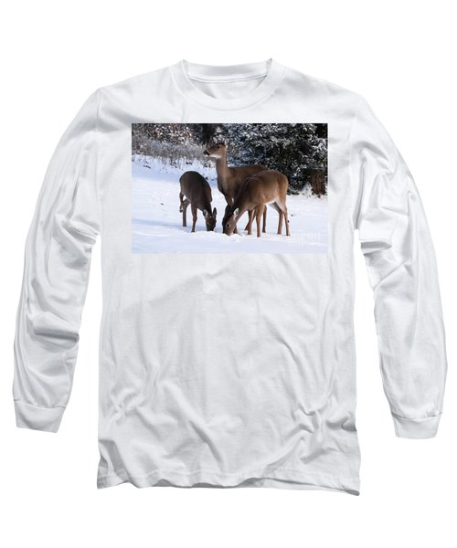 White-tailed Deer - 8855 Long Sleeve T-Shirt