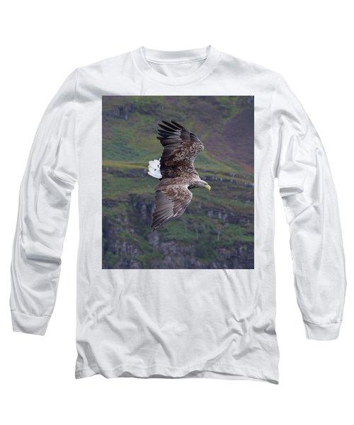 White-tailed Eagle Banks Long Sleeve T-Shirt