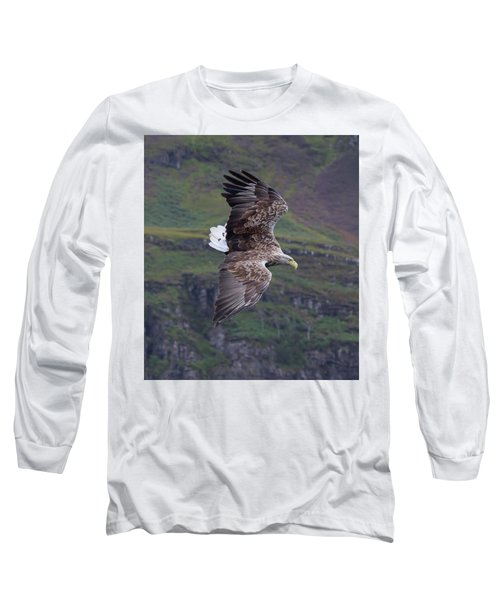 White-tailed Eagle Banks Long Sleeve T-Shirt