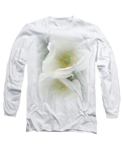 White Tulip Fantasy Long Sleeve T-Shirt