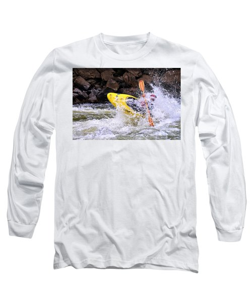 Whitewater On The New River Long Sleeve T-Shirt