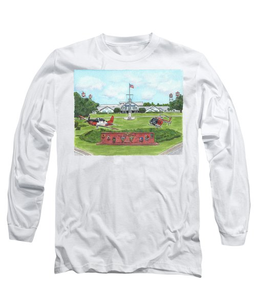 Whiting Field Welcome Sign Long Sleeve T-Shirt