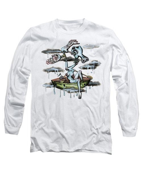 Why Sky Captain Long Sleeve T-Shirt