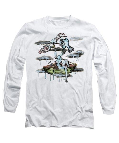 Why Sky Captain Long Sleeve T-Shirt