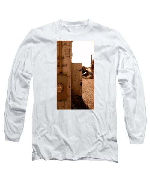 Long Sleeve T-Shirt featuring the photograph Wide Open by Steve Sperry