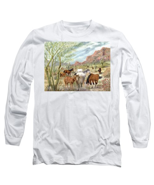 Wild And Free Forever Long Sleeve T-Shirt