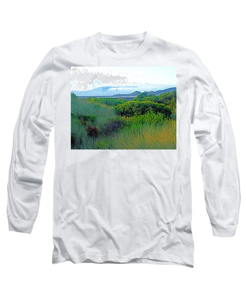 Wild Coastal Flora Long Sleeve T-Shirt