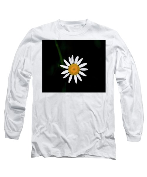 Long Sleeve T-Shirt featuring the digital art Wild Daisy by Chris Flees