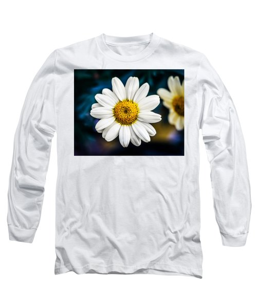 Long Sleeve T-Shirt featuring the photograph Wild Daisy by Nick Bywater